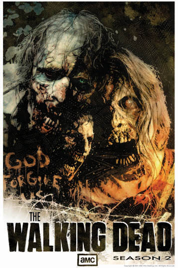 Walking Dead Poster Comic Con