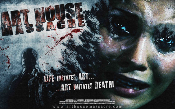 Art House Massacre Poster