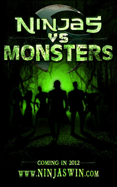 Ninjas vs Monsters poster