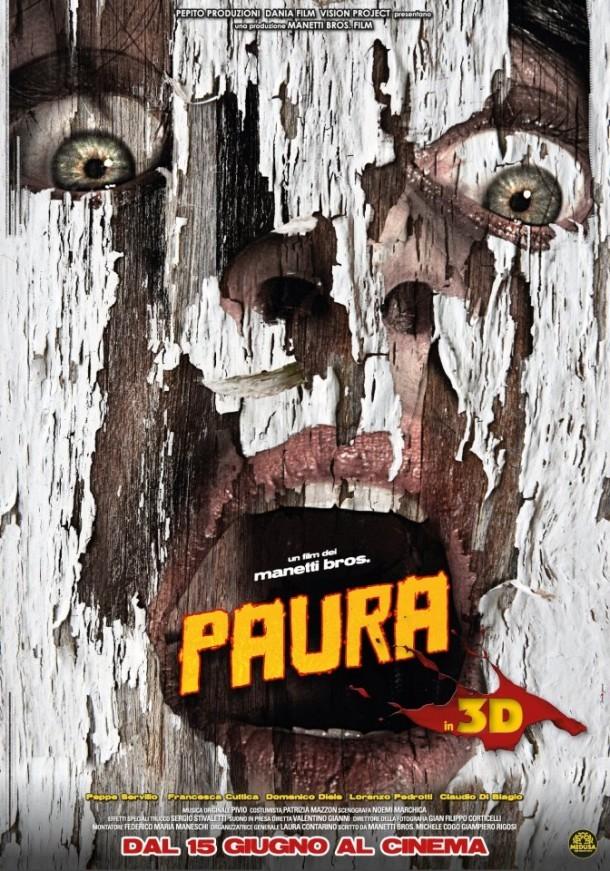 Paura 3D poster