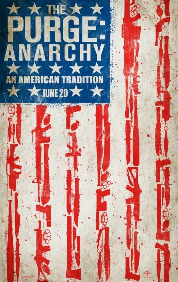 Purge 2: Anarchy teaser poster