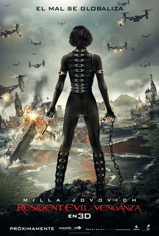 /resident evil retribution spanish poster