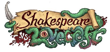 shakespeare vs lovecraft poster