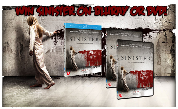 Sinister Giveaway