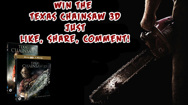 The Texas Chainsaw Giveaway