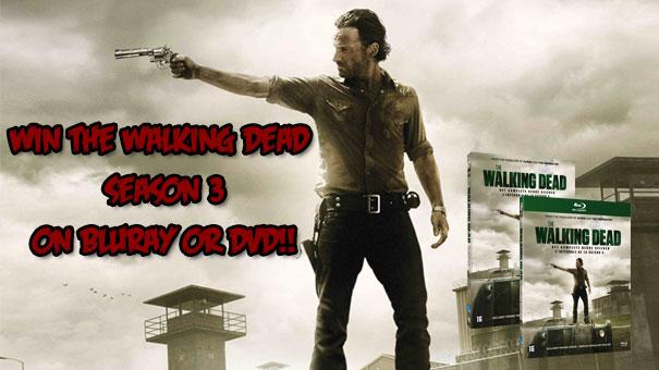 Walking Dead Season 3 Giveaway