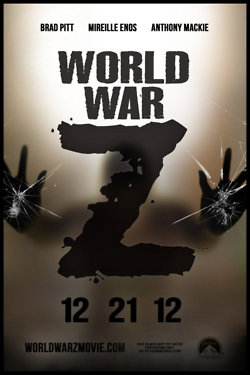 World War Z fan poster
