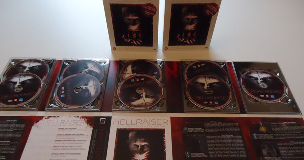 Hellraiser 25th anniversary box
